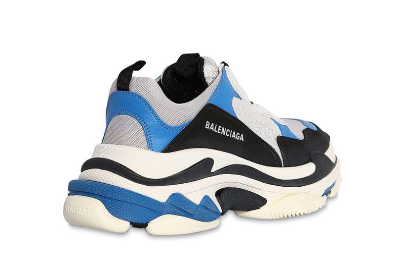 Balenciaga Triple S Black/White/Blue