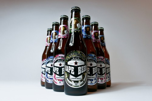 A Bathing Ape Is Giving out Free BAPE Beer This Weekend