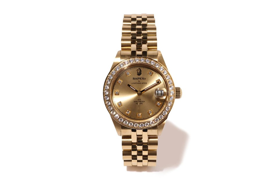 BAPE Drops Limited Edition Iced-Out BAPEX