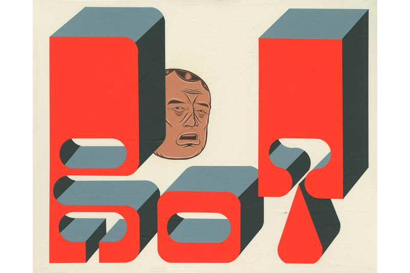 barry mcgee the other side perrotin hong kong exhibitions artworks paintings