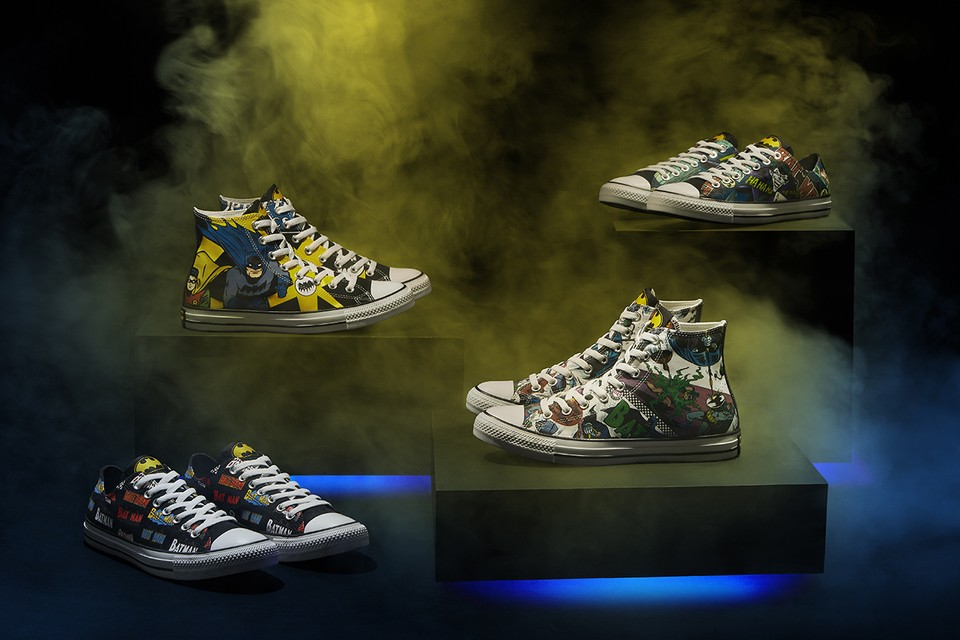 Converse Celebrates 80 Years of 'Batman' With Six-Piece Footwear Collaboration