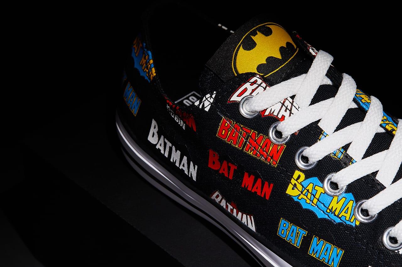 Batman' x Converse 80th Anniversary