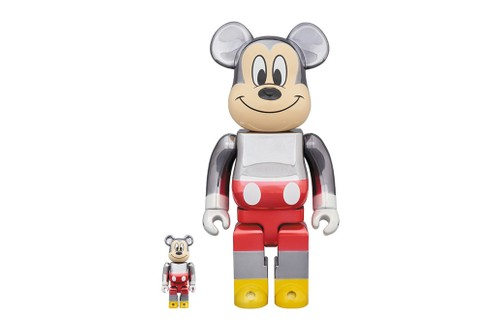 fragment design x BE@RBRICK Unveil Figure of Beloved Mickey Mouse