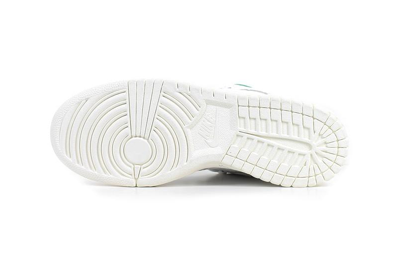 Ben-G Nike SB Dunk Low Official Look embossed swoosh white green release info date buy price