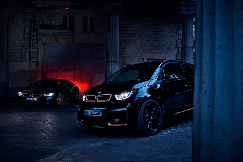 BMW i3 Edition RoadStyle i8 Ultimate Sophisto Edition Release plug in hybrid electric vehicle PHEV limited edition germany engineering