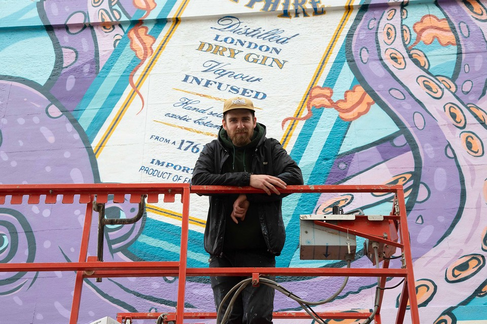 Bombay Sapphire Enlists Local Artists for New Street Mural Series Across the UK
