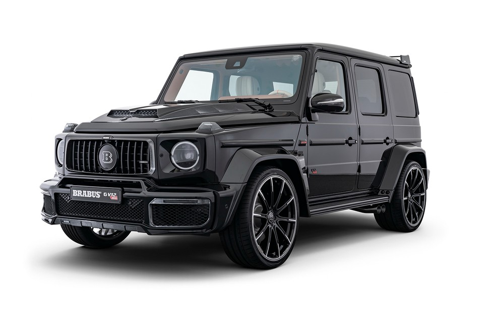 "Brabus Unveils G V12 900 ""ONE OF TEN"" Packed With 888 BHP & 1,500 Nm of Torque"
