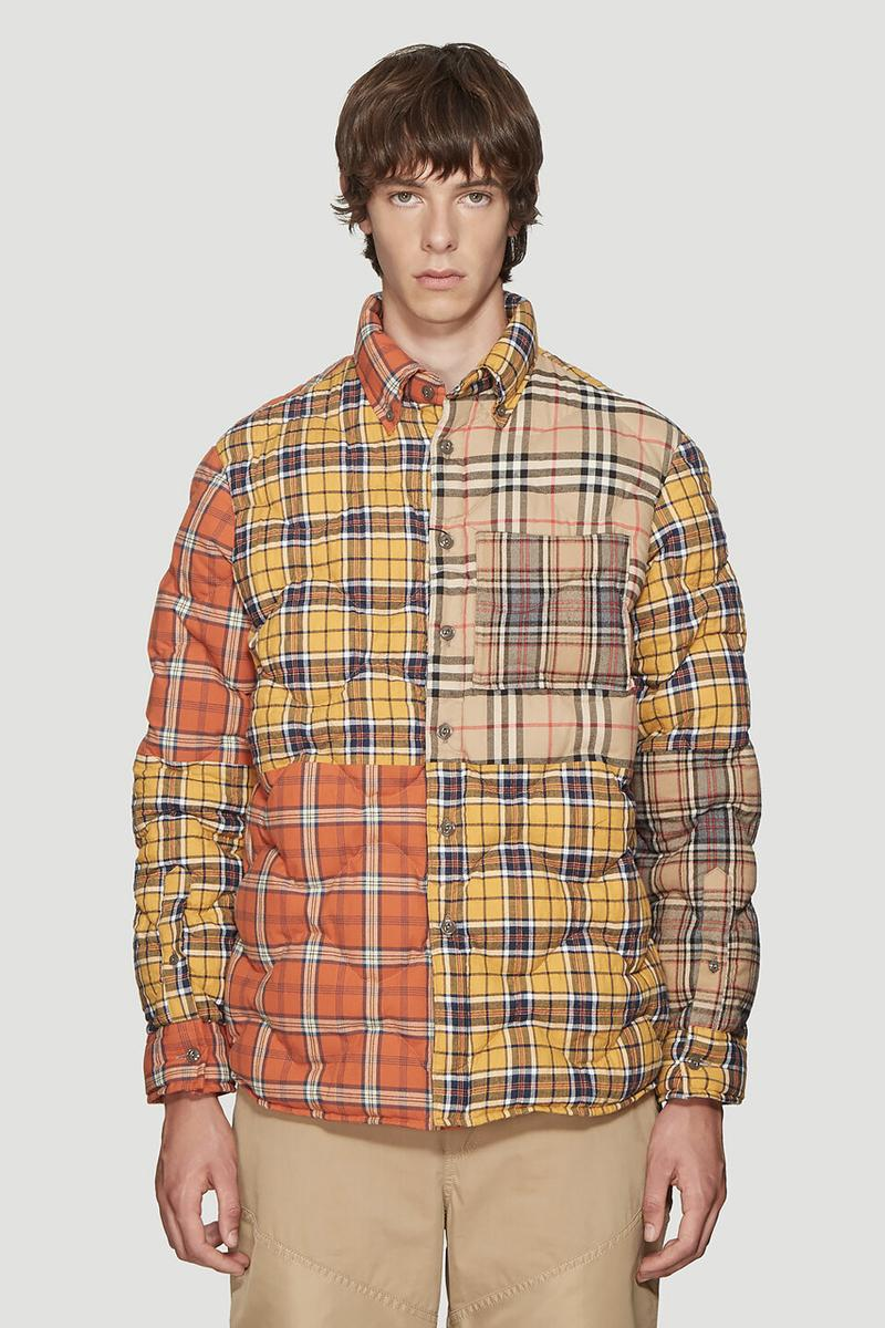 Burberry Multi Check Quilted Overshirt release where to buy price 2019