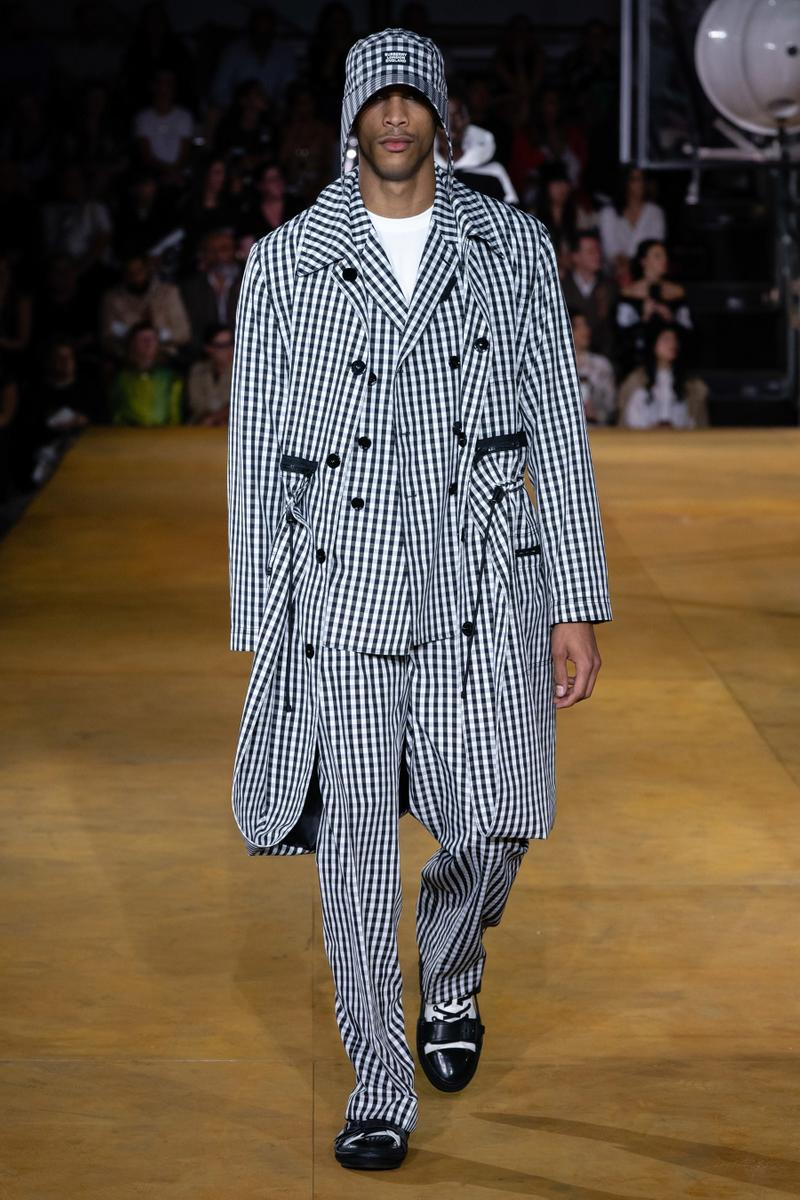 Burberry London Fashion Week Spring Summer 2020 Runway Show Riccardo Tisci suits jackets outerwear streetwear