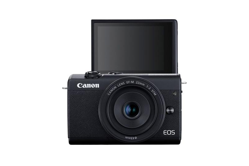 Canon EOS M200 4K Camera Video Eye-Detect AF Release Information Technology M100 Successor Digic 8 processor Autofocus Personal Pocket Sized Portable SmallEF-M 15-45mm F4.5-6.3 IS STM lens
