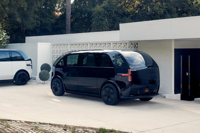 Canoo Subscription-Only EV Pods First Look BMW i3 i8 Designer Start Up Company Los Angeles HQ 80 KwH Battery 300 BHP 313 lb-ft Torque Futuristic mini microbus millennials travel electric cars driving