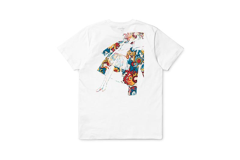 liberty carhartt wip exclusive pop up t-shirts fall winter 2019 collection installation london buy cop purchase order