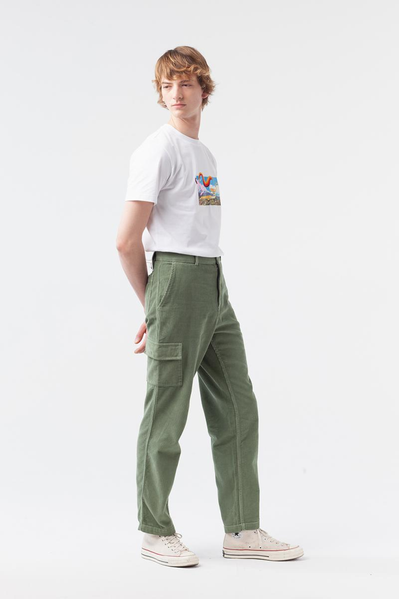 "Carne Bollente Fall/Winter 2019 Collection Available Now Buy Online Stores T-Shirts Workwear Jackets Shirts Prints NSFW Designs ""Free the Nipple"" Embroidered Corduroy Trousers"