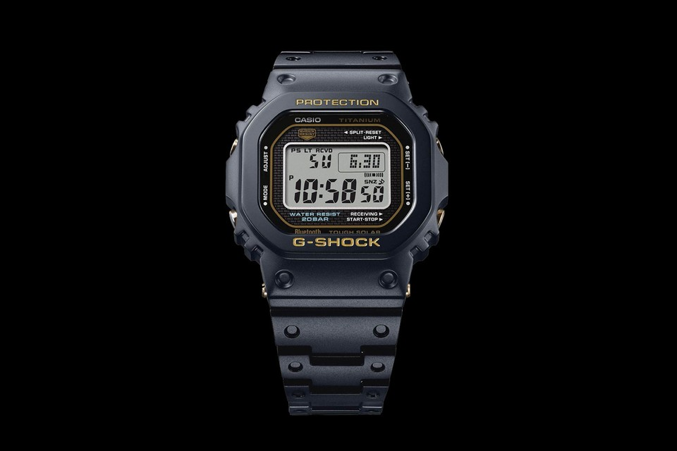 G-SHOCK's 5000 Series Gets Upgraded in Titanium
