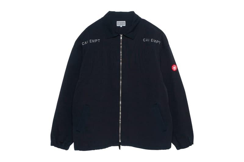 Cav Empt Fall/Winter 2019 12th Drop Release Info japanese streetwear brand sk8thing  01100100 ZIP JACKET BLEACHED DENIM PARKA NOT NATURE T
