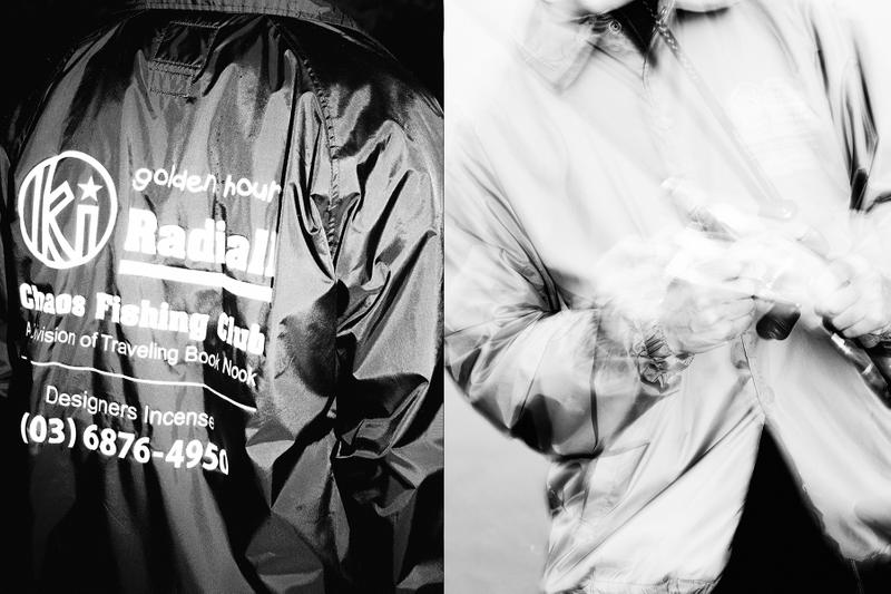 Chaos Fishing Club x Radiall x Kuumba International Lookbook