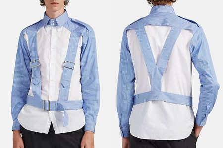 COMME des GARÇONS SHIRT Blends the Harness Trend With Button-Ups for FW19