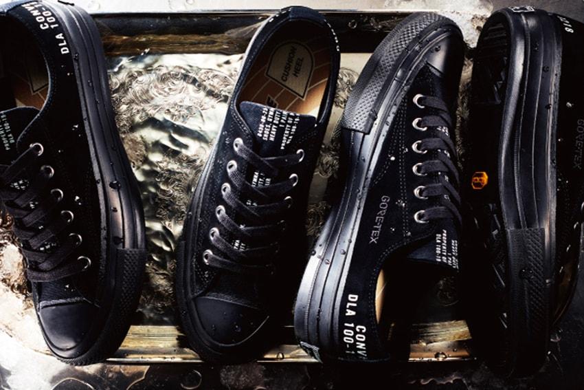 Converse Addict Drops Premium Chuck Taylors With Sleek GORE-TEX Coating