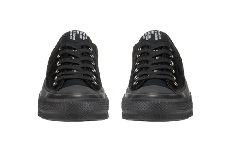 Converse Addict Chuck Taylor GORE TEX NH OX black suede canvas eva foam vibram sole