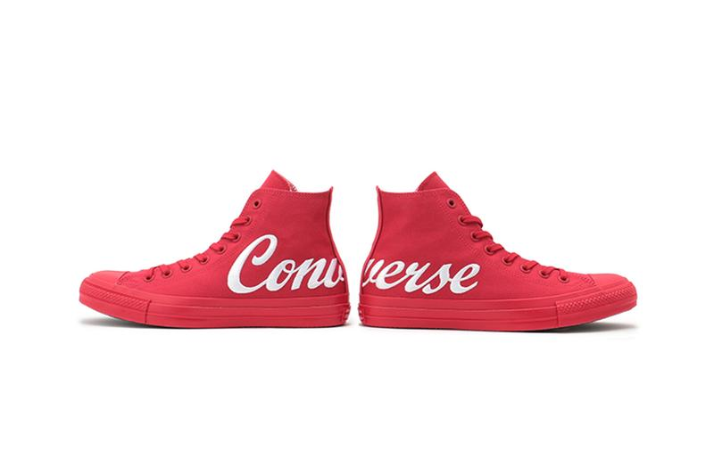 Converse Japan Chuck Taylor All Star 100 Logo Embroidery Hi Release