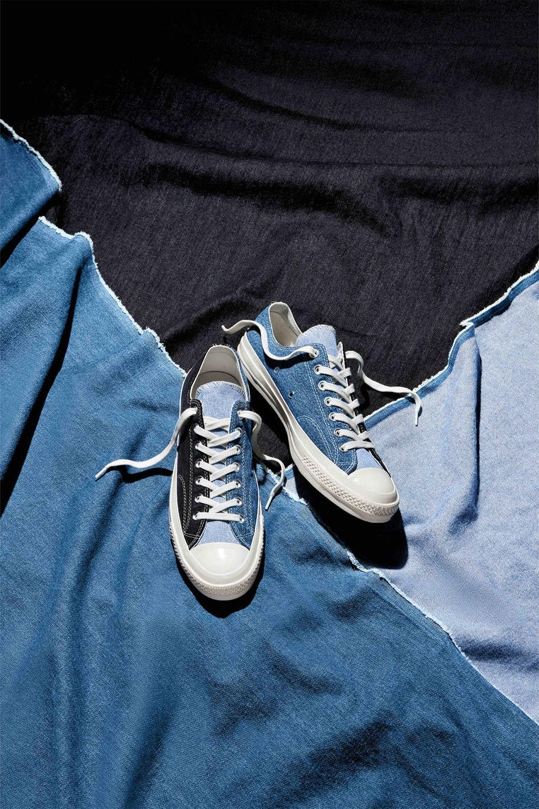 all star converse jeans shoes
