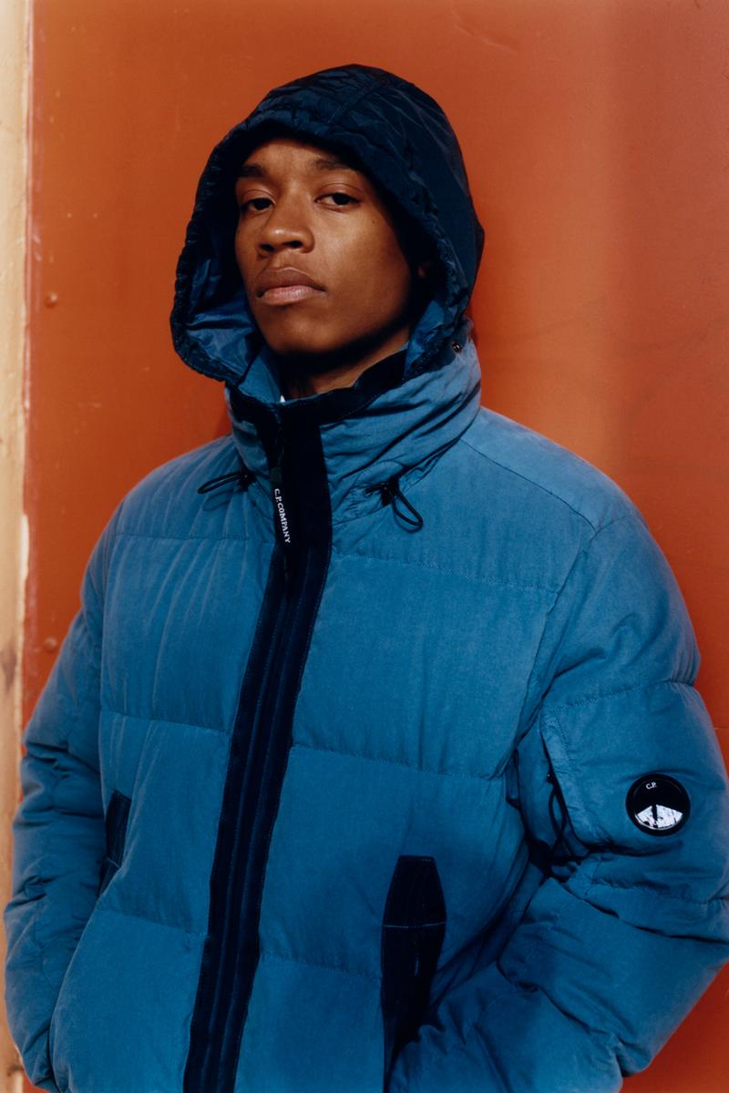 "Rejjie Snow C.P. Company Fall/Winter 2019 Campaign ""Paris Mon Amour"" 'Eyes on the City' Goggle Jackets Red Orange Blue Green Brown"