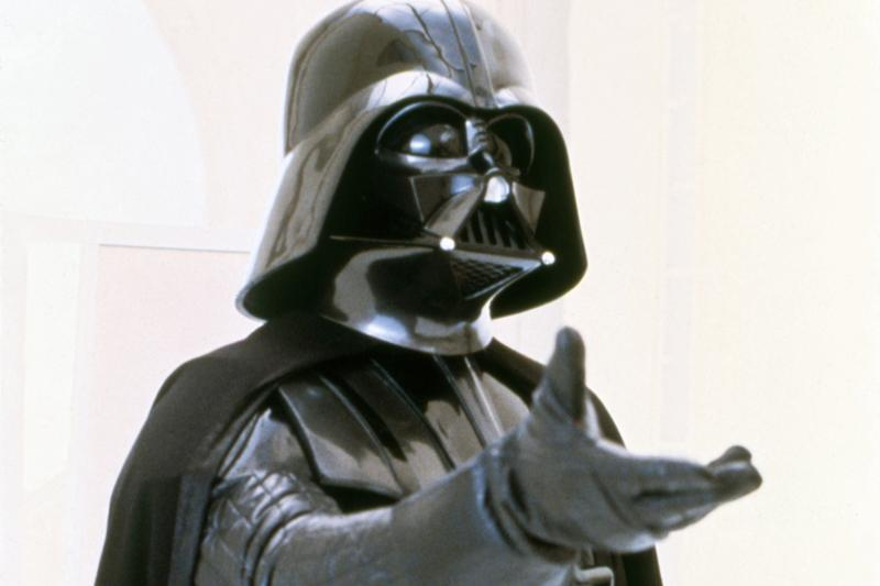 'Star Wars: The Empire Strikes Back' Darth Vader Helmet Auction David Prowse 1980 used in film real science fiction fantasy Lucasfilm George Lucas luke skywalker collectible memorabilia