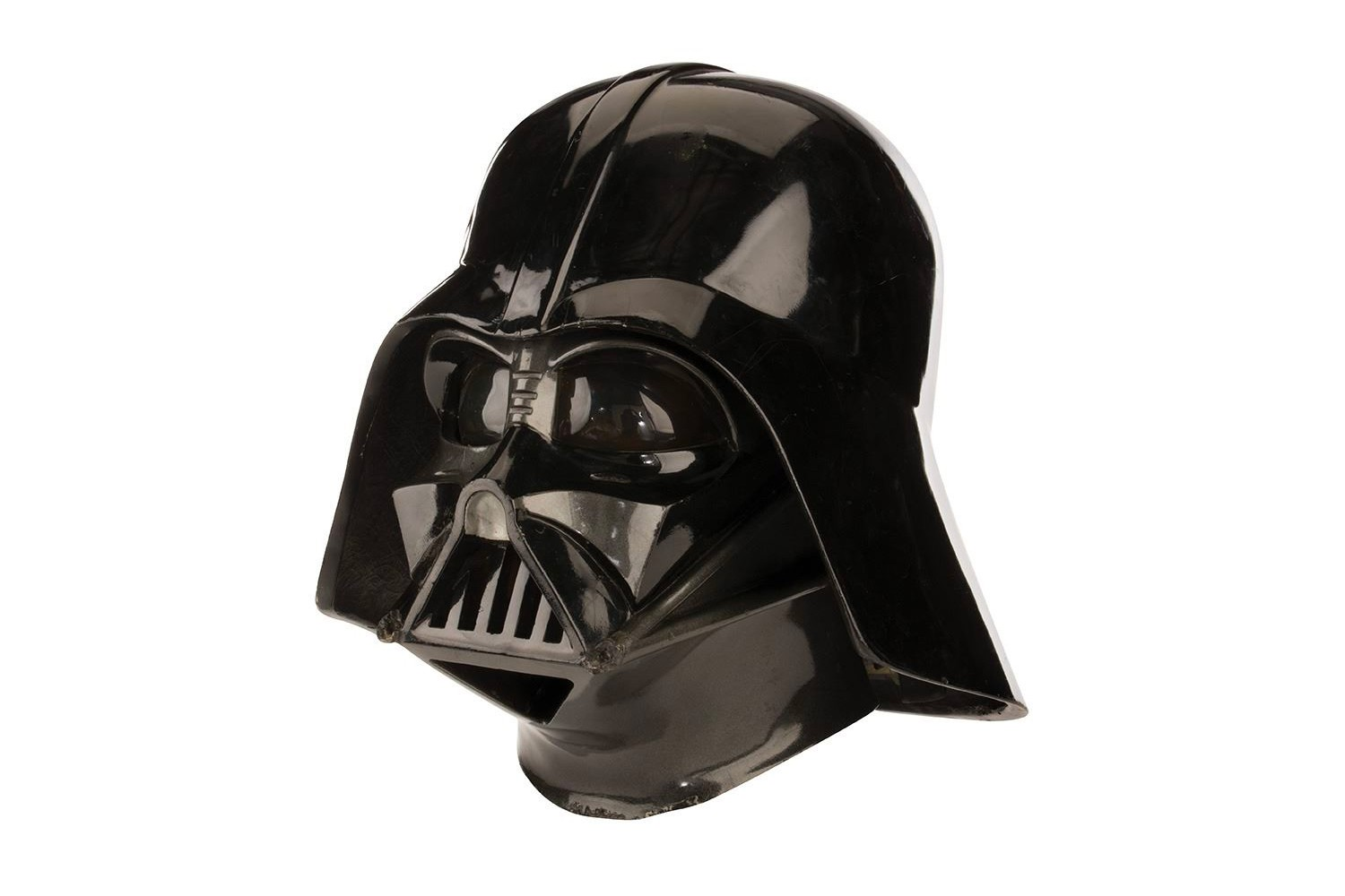 'Star Wars: スター・ウォーズ The Empire Strikes Back' ダース・ベイダー Darth Vader ヘルメット マスク 帝国の逆襲  Helmet Auction David Prowse 1980 ルーク スカイウォーカー  マーベル used in film real science fiction fantasy Lucasfilm George Lucas luke skywalker collectible memorabilia