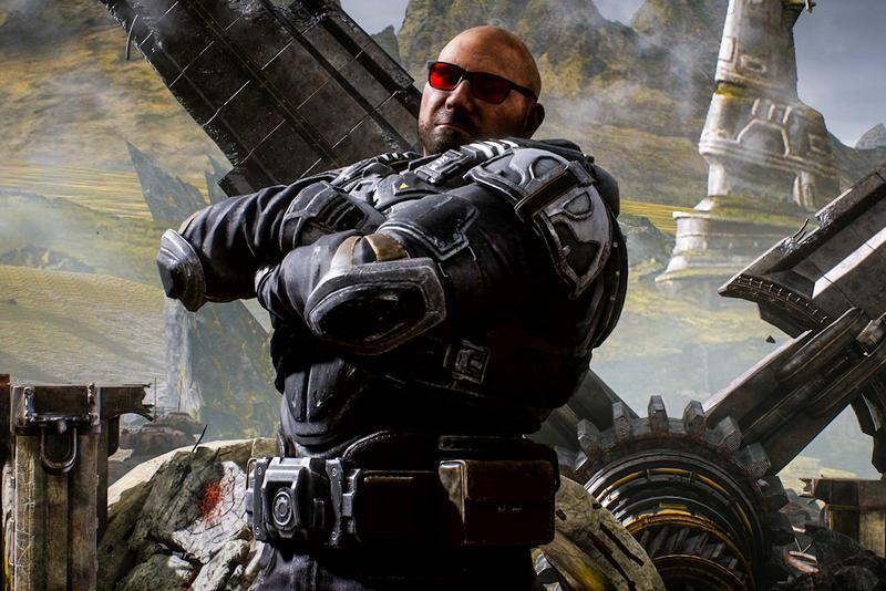 Dave Bautista is Coming to Gears 5 Info the coalition batista microsoft xbox game studios gears of war video games gaming