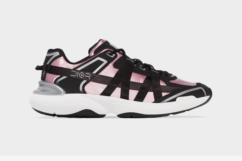 Dior Black Ribbon Racer Low Top Sneakers footwear shoes kim jones pink satin bondage homme christian french luxury paris logo monogram