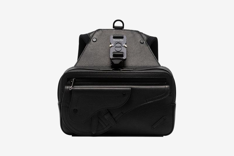 Dior Homme Black Saddle Leather Backpack Release Brown's Brown's Fashion Bags Kim Jones Cobra Belt
