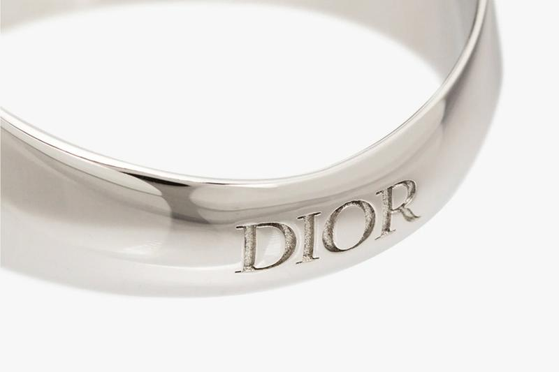 Dior Homme Silver Gold CD Signet Ring Release Info Buy