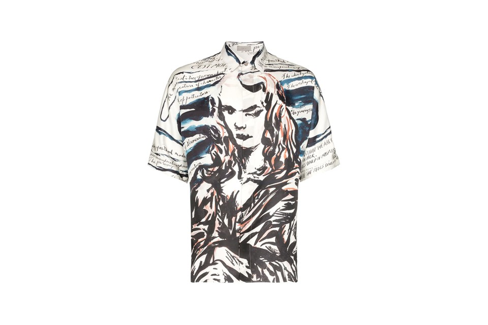 Dior Men & Artist Raymond Pettibon Reimagine Mona Lisa With Ethereal Prints for FW19