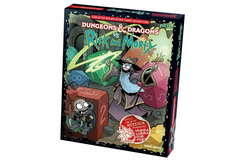 Dungeons & Dragons vs Rick and Morty Starter Set Pre-Order Wizards of the Coast Adult Swim Release Info Buy