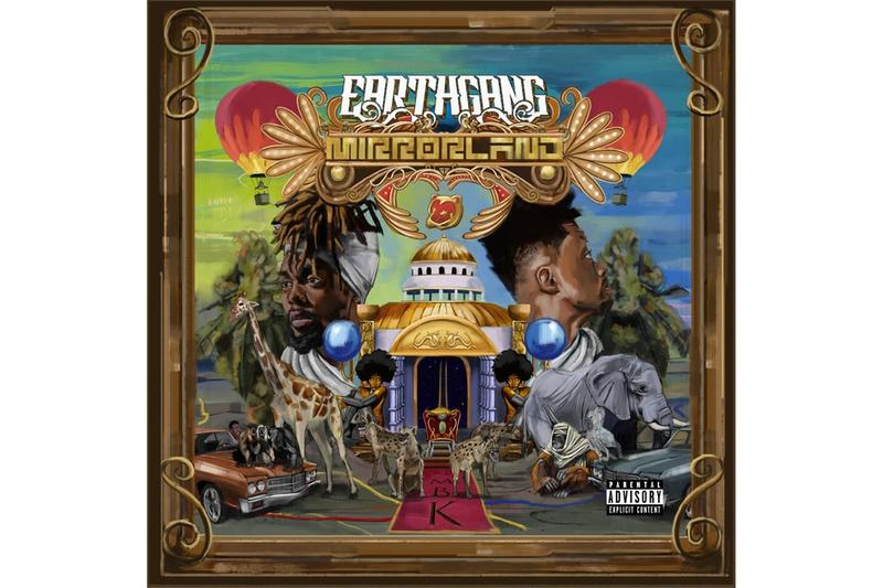 EarthGang MirrorLand Album Stream olu johnny venus wowgr8 doctur dot dreamville records