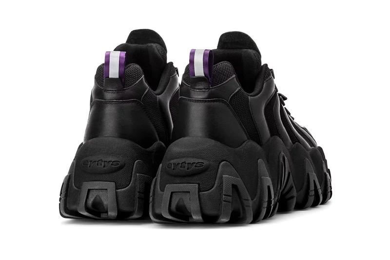 Eyty's Halo Sneaker Sneakers Chunky Shoes Footwear Boots kicks Rubber Hypebeast arch support purple phylon