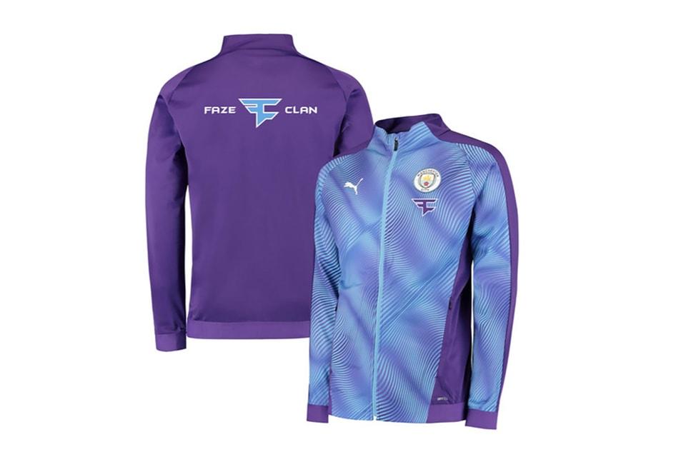 FaZe Clan & Manchester City Release Co-Branded Stadium Jacket (UPDATE)