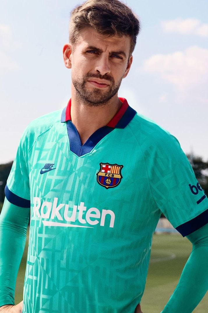 Fc Barcelona 2019 20 Third Kit By Nike Hypebeast