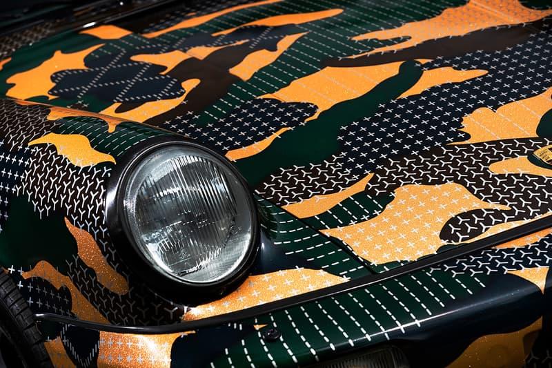 FDMTL Wraps Porsche 964 Sashiko Camouflage Custom wrap like a king carrera