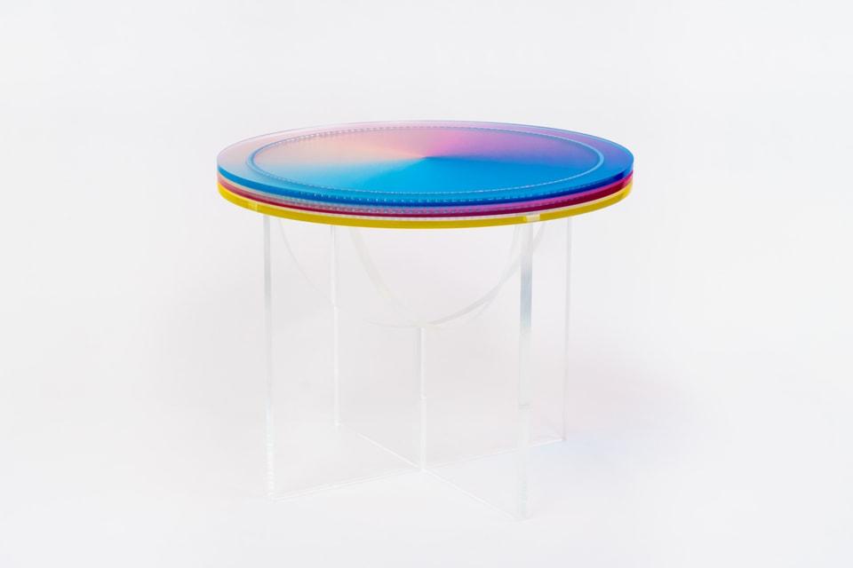Felipe Pantone & Configurable Art to Release a Fully Customizable Side Table