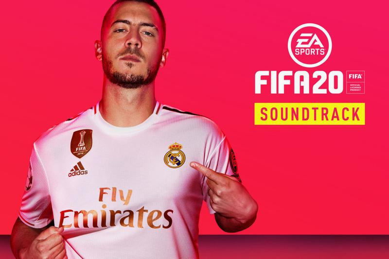 """'FIFA 20' & """"VOLTA FOOTBALL"""" Soundtrack Streams ea sports football albums soccer video games eden hazard"""