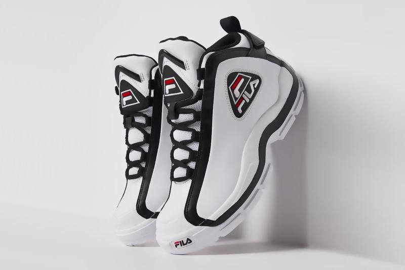 FILA Grant Hill 2 1BM00637 1BM00639 rerelease september 2019 pictures images release date info buy purchase cost imagery pics photos shots sneakers shoes white red black low navy