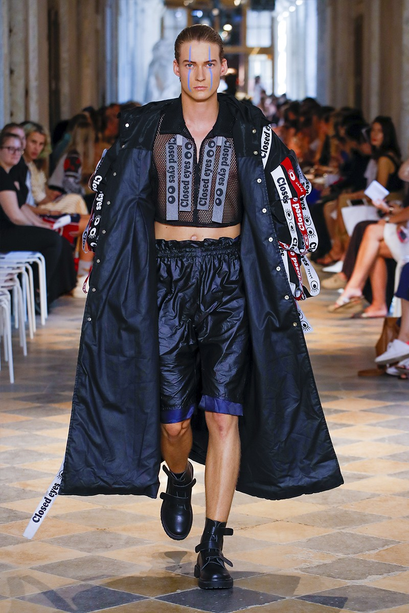 Five Moments From Prague Fashion Week Spring Summer 2020 Mercedes Benz addict swim jan cerny cross phonez adam kost Bunka Fashion Graduate University