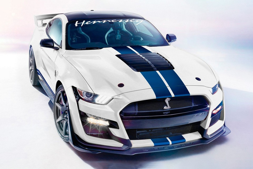 Hennessey Pushes the 2020 Ford Mustang Shelby GT500 to 1,200 Horsepower