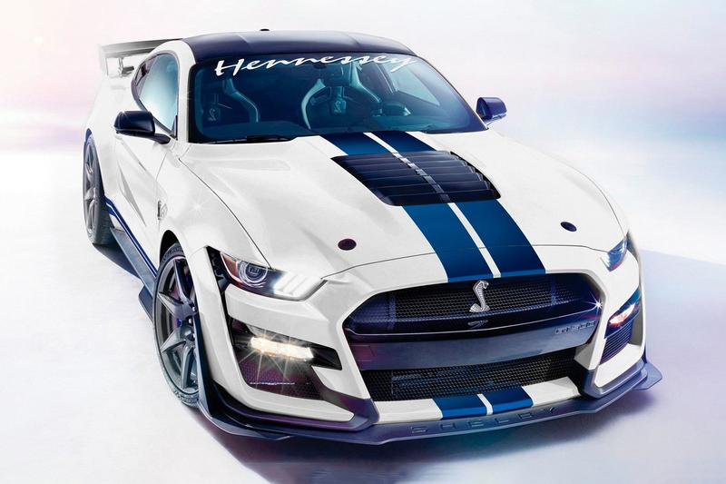 Hennessey 2020 Ford Mustang Shelby GT500 1200 Horsepower Upgrade Kit cars racing custom motorsport
