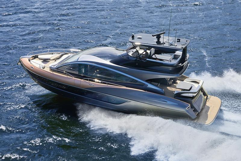 Lexus LY 650 Yacht Debut at Fort Lauderdale international boat show toyota luxury sea ocean ship marquis