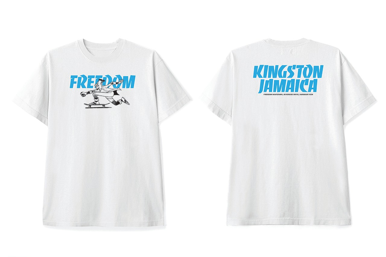Flipping Youth Jamaica Kingston First Skatepark Donation Supreme Tmrw.Tday Concrete Jungle Foundation Supreme New York Sole DXB