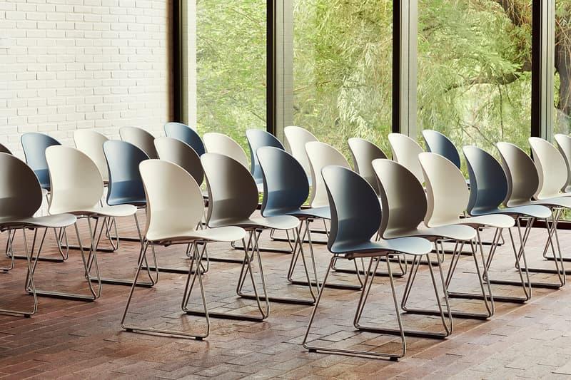 Fritz Hansen nendo Release Minimal Recycled Plastic Chair Oki Sato Info Japanese Danish Furniture Collaboration