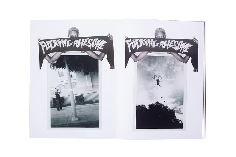 Fucking Awesome Actual Visual Guidance Book Release Info Date Jason Dill Photos Collage