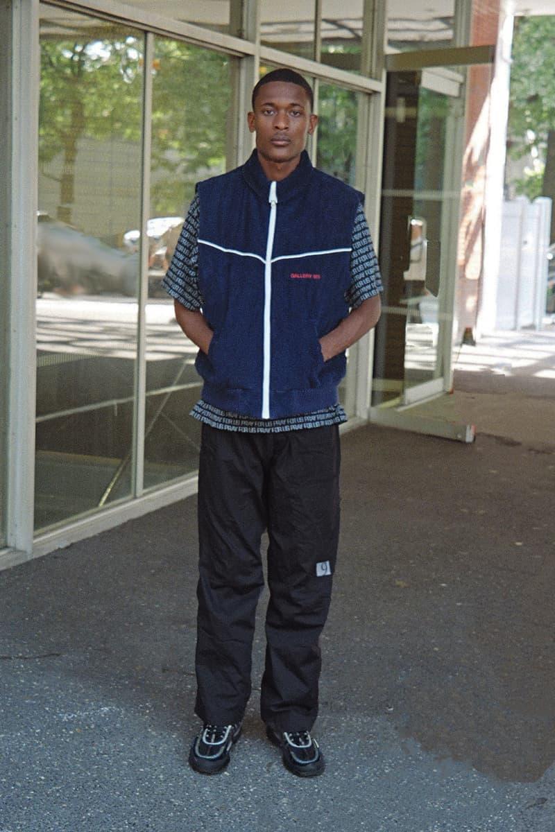 Gallery 909 Fall/Winter 2019 Collection Coats Vests Pants Burgundy Orange Green Black Blue White Crewnecks T-shirts Lambskin Leather Silk Suede Corduroy